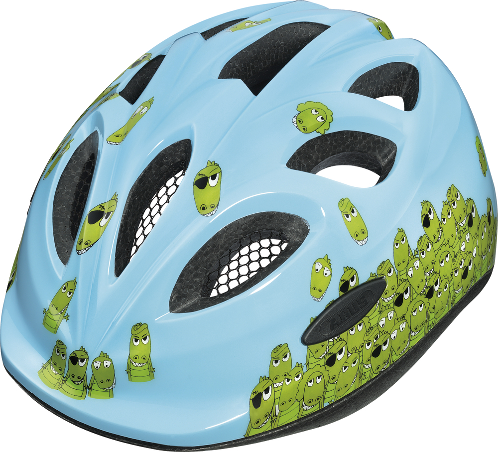Dětská cyklistická přilba   helma ABUS Smiley Croco 336ccbec01b