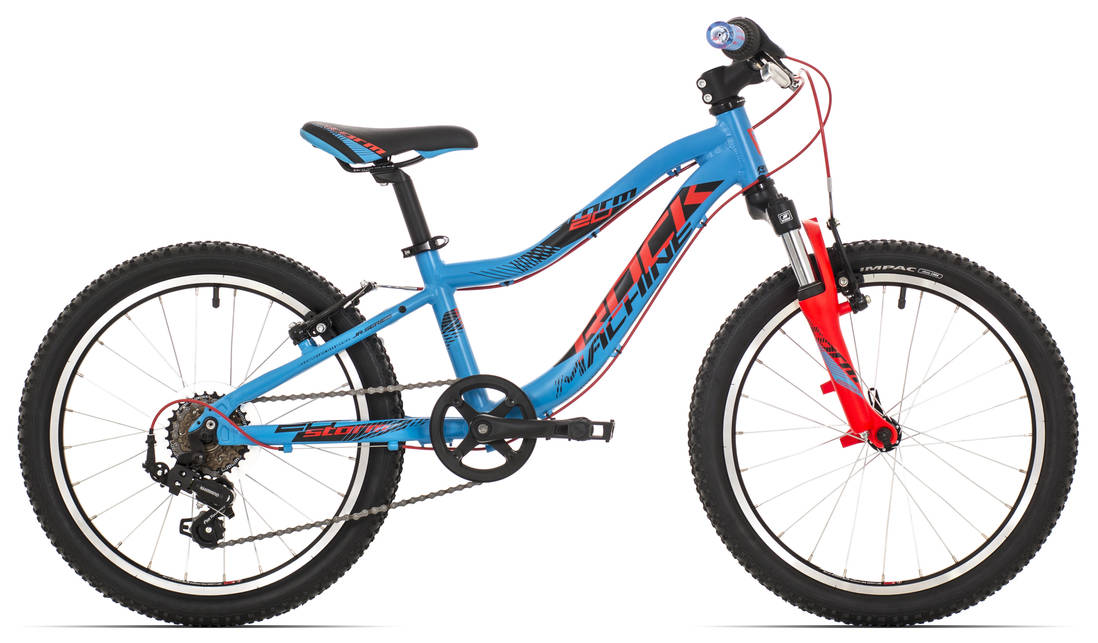 "Rock Machine Storm 20"" 2018 blue/red/black"
