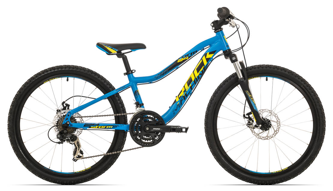 "Rock Machine Storm 24"" MD 2018 matte blue/yellow/black"