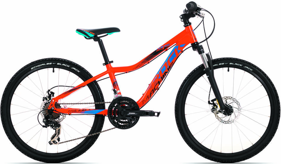 "Rock Machine Storm 24"" MD 2018 orange/blue/black"