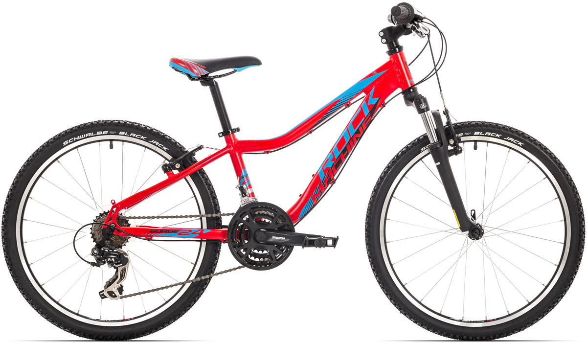 "Rock Machine Surge 24"" 2018 red/blue/black"