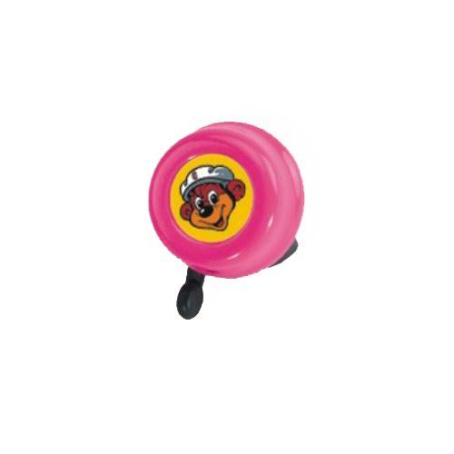 Zvoneček PUKY pro odrážedla, koloběžky a jízdní kola PUKY růžový (Určeno pro odrážedla, koloběžky a jízdní kola PUKY)