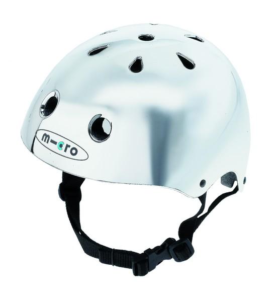 Cyklistická přilba - helma MICRO Chrom, velikost L (pro obvod hlavy 58-60 cm) - 2013