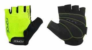 Rukavice FORCE TERRY, fluo M