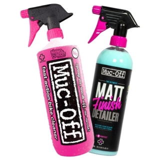 Bike Cleaner and Matt Finish Duo pack