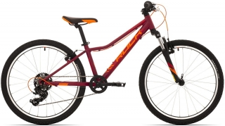 "Rock Machine Catherine 24"" 2020 - dark crimson/crimson/neon orange"