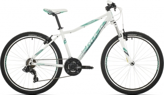"Rock Machine Catherine 26"" 2018, rám 14"" (XS) gloss white/mint green/grey"