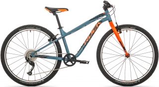 "Rock Machine Thunder 26"" 2018, rám 14"" (XS) matte grey/orange/black"