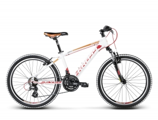 "KROSS 24"" LEVEL Replica Alu 2018 white/red/orange matt"
