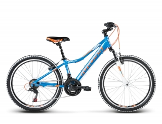 "KROSS 24"" HEXAGON Replica Alu 2018 blue/orange matte"