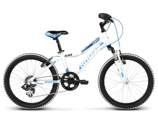 "KROSS 20"" LEVEL Mini Alu 2018 white/blue glossy"